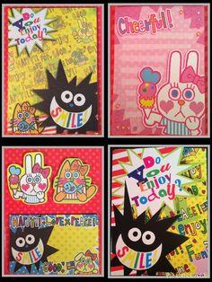 Bunny Tri-Fold Sticky Notebook