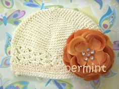 Beanie hat baby beanie hat toddler beanie hat  by PetitePeppermint, $3.00