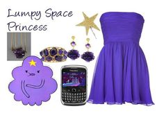 A fashion look from August 2012 featuring short cocktail dresses, purple necklace and Oscar de la Renta. Browse and shop related looks. Halloween Make Up, Halloween Costumes, Halloween Ideas, Lumpy Space Princess, Adventure Time Marceline, Fandom Fashion, Casual Cosplay, Kids Shows, Geek Out