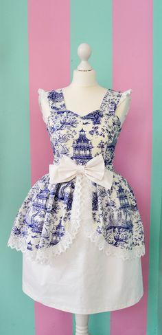 Blue China Classic Lolita Dress