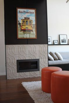 Our Studio Moderne Paramount pattern in this years Sunset Idea House 2012 Healdsburg, CA