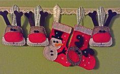 Reindeer and socks Christmas