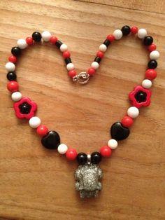 365 dagen creatief: Mini Cooper ketting/necklace