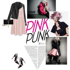 """""""Pink Punk"""" by federica-m on Polyvore Teen Fashion, Womens Fashion, Fashion Tips, Fashion Trends, Pinky Pinky, Italian Shoes, Styling Tips, Punk, Street Style"""