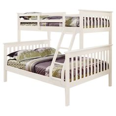 Found it at Wayfair - Carlisle Twin Over Full Bunk Bed in Whitehttp://www.wayfair.com/daily-sales/p/Kids%E2%80%99-Bedroom-Boost-Carlisle-Twin-Over-Full-Bunk-Bed-in-White~DONC1037~E12277.html?refid=SBP.rBAZKFPxPEMCYnVvbEeHAgAAAAAAAAAAAAAAAAAAAAA
