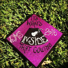 Graduation cap ultrasound