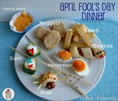 April Fools Day Dinner: Recipes on HoosierHomemade.com