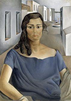Salvador Dalí - Portrait of my Sister, 1925