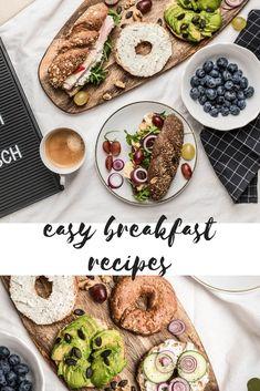 Einfache Frühstücksideen oder Snackideen für unterwegs gesucht? Egal ob für Schule, Uni oder Arbeit  > hier findet ihr gesunde Snackideen. Breakfast Recipes, Breakfast Ideas, Snacks, Greta, Ethnic Recipes, Diy Ideas, Superfood Recipes, Brunch Recipes, Brunch Ideas