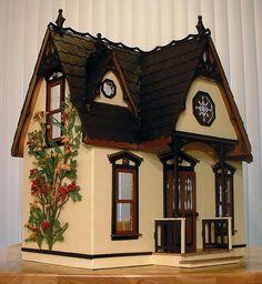 Orchid dollhouse kit~finished idea