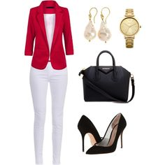 A fashion look from March 2015 featuring J Brand jeans, Kurt Geiger pumps and Givenchy handbags. Browse and shop related looks.