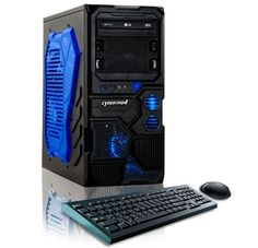 Shop CybertronPC Borg-Q Desktop AMD FX-Series Memory Hard Drive Blue at Best Buy. Find low everyday prices and buy online for delivery or in-store pick-up. Gaming Desktop, Desktop Computers, Gaming Computer, Gaming Pc Under 500, Gaming Pc Build, Quad, Microsoft Windows 10, Computer Reviews, Electronic Deals