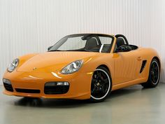 Boxster 987 - Orange limited edition of 250