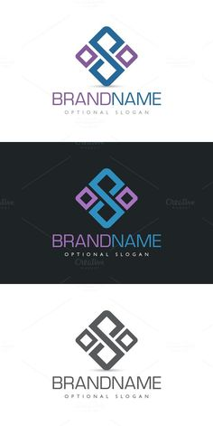 S Square Connection. Logo Templates. $29.00