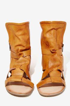 Wanderlust Leather Sandal Bootie - Flats | Gladiators | Shoes | All