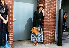 New York Fashion Week Street Style - Vogue