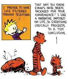 Image result for jump to conclusions calvin hobbes