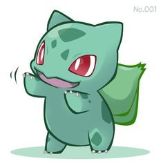 No. 1 bulbasaur!