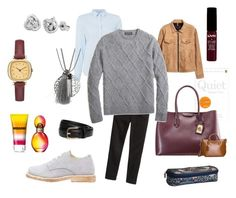 """Oversized Lambswoolsweaters <3"" by rosshaar on Polyvore featuring GANT, Brooks Brothers, NYX, Missoni, IBB and s.Oliver"