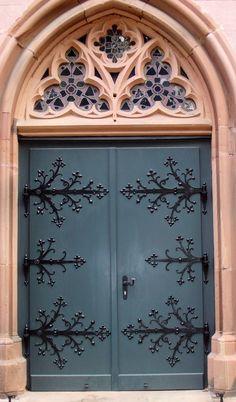 door... Heidelberg Kirche