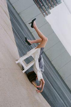 United Nude Eamz Pump as seen in Vein Magazine worn by Anna Ponsa Lopez
