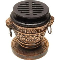 Mini Table Top Hibachi Grill - Cast Iron Pu-pu Grill