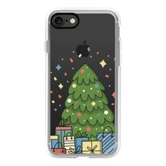 Marry Christmas and Happy New Year - iPhone 7 Case, iPhone 7 Plus... (21.805 CRC) ❤ liked on Polyvore featuring accessories, tech accessories, xmas, iphone case, iphone cases, apple iphone case and iphone cover case