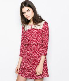 Springfield. Dresses PRINT DRESS