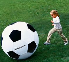 Keep Track of Your Gear with the Personalized Soccer Ball #stockingstuffer #gifts trendhunter.com