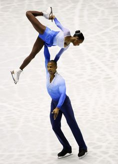 I would love to see a professional figure skating competition someday.  Vanessa James and Yannick Bonheur were the first black couple to compete in the Winter Olympics pairs figure skating competition, in Vancouver Canada 2010.