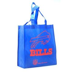 NFL Buffalo Bills Printed Non-Woven Polypropylene Reusable Grocery Tote Bag, One Size, Blue  https://allstarsportsfan.com/product/nfl-buffalo-bills-printed-non-woven-polypropylene-reusable-grocery-tote-bag-one-size-blue/  Hand-Made Product! 100% Licensed Product for the NFL, NCAA, NHL, NBA, and MLS! Made of high quality materials!