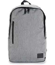 d5698ebfc48 Get a sleek new style to carry your things in with a heather grey exterior  that