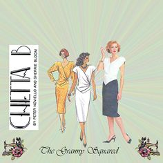 40s Style Dress Pattern with Shirred Waist by TheGrannySquared