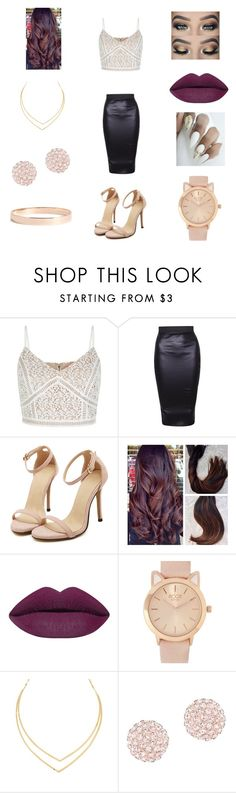 """""""Untitled #80"""" by kearieciriaco ❤ liked on Polyvore featuring New Look, Swarovski and Lana Jewelry"""