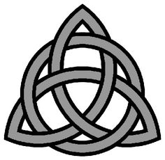 "Tattoo Idea Triquetra means ""triangle"" or ""three"" (tri-) ""cornered"" (quetrus). It is made up of three intersecting vesicae piscis. A vesica piscis in turn is the shape created by the intersection of two congruent circles. A triquetra symbol is sometimes interlaced with a circle."