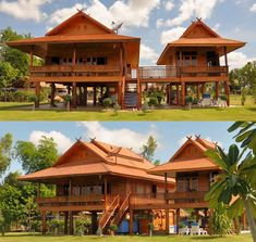 Thailanna home buy your own teak wooden house in for Traditionelles thai haus