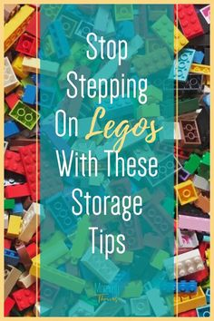 How To Store Legos - Ideas For Lego Storage and Organization - Ideas and Organization Hacks For Legos Small Space Organization, Home Organization Hacks, Organization Ideas, Lego Table With Storage, Lego Storage, Organizing Clutter, Organizing Your Home, Step On A Lego, Building For Kids