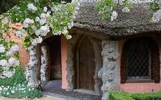 The English rose garden at Seend Manor  Picture: ANDREW LAWSON