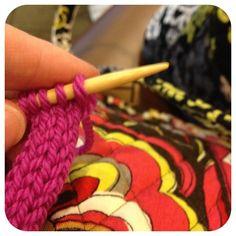 Knitting i-cord