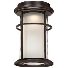 park view bronze 10 1 2 high led outdoor wall light v1685 lamps plus