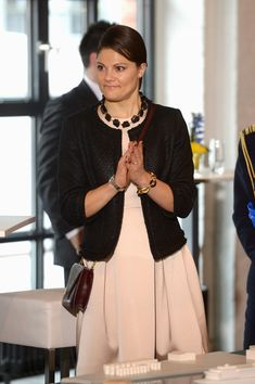 Crown Princess Victoria in Germany 1/28/2014