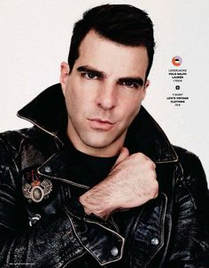 Zachary Quinto for GQ Germany, October 2015