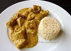 Di pasta impasta: Bocconcini di vitello al curry e riso pilaf