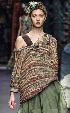 Необычные и даже забавные бохо-наряды из коллекции Antonio Marras - Ярмарка Мастеров - ручная работа, handmade