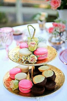 Macaroons for high tea