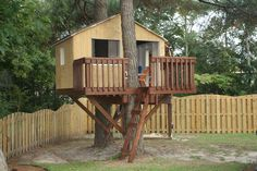 Tree House Complete.  Also had wall to wall carpeting and interior lights :)