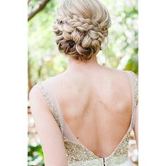 15 Stunning Summer Wedding Hairstyles ❤ liked on Polyvore featuring hair, blonde and hairstyles