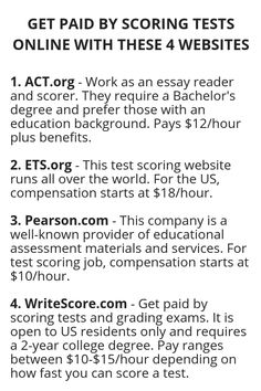 GET PAID BY SCORING TESTS ONLINE WITH THESE 4 WEBSITES - Wisdom Lives Here