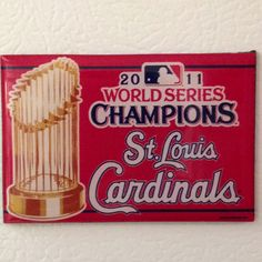 2011 World Series Champions St. Louis Cardinals