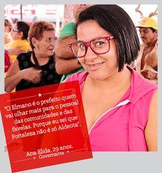 A Ana Élida é 13 e vota Elmano